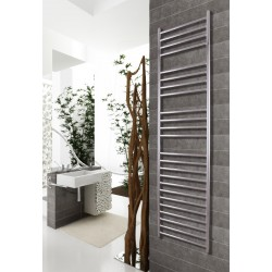 500mm Wide 1700mm High Stainless Steel Polished Towel Radiator