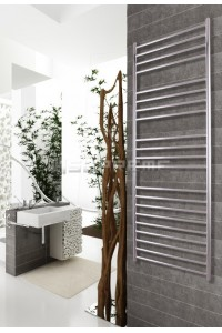 600mm Wide 1500mm High Stainless Steel Polished Towel Radiator