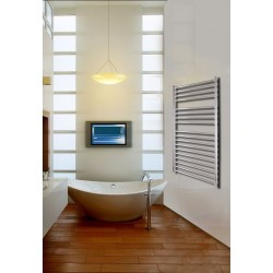 700mm Wide 1200mm High Stainless Steel Polished Towel Radiator