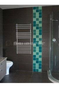 400mm Wide 800mm High Stainless Steel Designer Towel Radiator