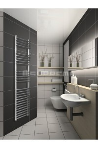 400mm Wide 1500mm High Stainless Steel Designer Towel Radiator