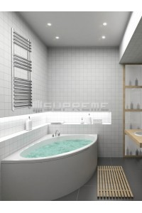 500mm Wide 1000mm High Stainless Steel Designer Towel Radiator