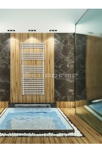 500mm Wide 1200mm High Stainless Steel Designer Towel Radiator