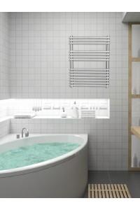 600mm Wide 800mm High Stainless Steel Designer Towel Radiator