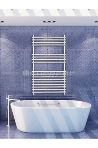 600mm Wide 1000mm High Stainless Steel Designer Towel Radiator