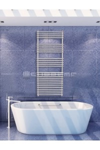600mm Wide 1500mm High Stainless Steel Designer Towel Radiator
