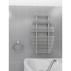 700mm Wide 1190mm High Supreme Chrome Designer Towel Radiator