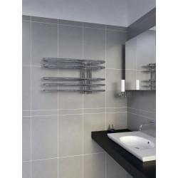 700mm Wide 400mm High Supreme Chrome Designer Towel Radiator