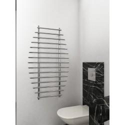 700mm Wide 1200mm High Supreme Chrome Designer Towel Radiator