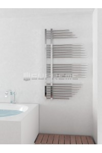 715mm Wide 1200mm High Supreme Chrome Designer Towel Radiator