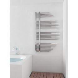 715mm Wide 1200mm High Supreme Chrome Designer Towel Radiator
