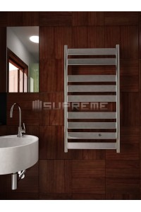 500mm Wide 950mm High Supreme Chrome Designer Mirror Effect Towel Radiator