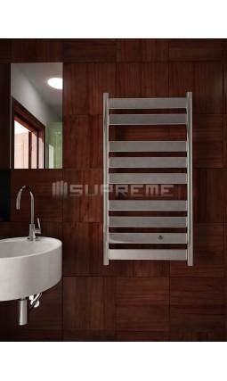 500mm Wide 950mm High Supreme Chrome Designer Mirror Effect Towel Radiator