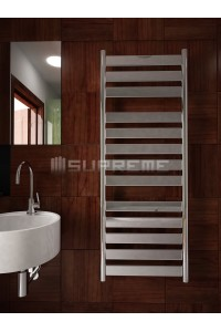500mm Wide 1300mm High Supreme Chrome Designer Mirror Effect Towel Radiator
