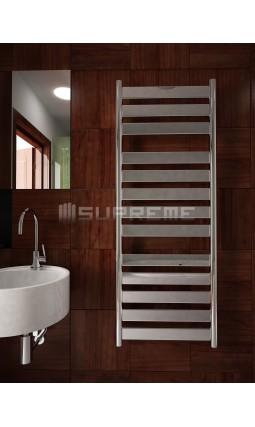 500mm Wide 1300mm High Supreme Chrome Designer Mirror Effect Towel Radiator