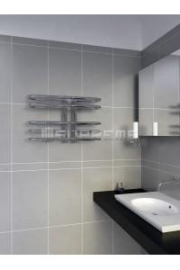 600mm Wide 400mm High Supreme Chrome Designer Towel Radiator