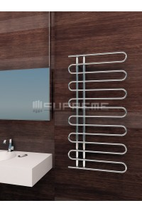 600mm Wide 1200mm High Supreme Chrome Designer Towel Radiator