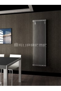 500mm Wide 1700mm High Supreme White Designer Vertical Radiator