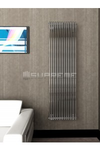 500mm Wide 1700mm High Supreme Chrome Designer Vertical Radiator