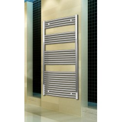 700mm Wide 1500mm High Chrome Curved Towel Radiator