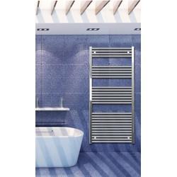 700mm Wide 1500mm High Chrome Flat Towel Radiator