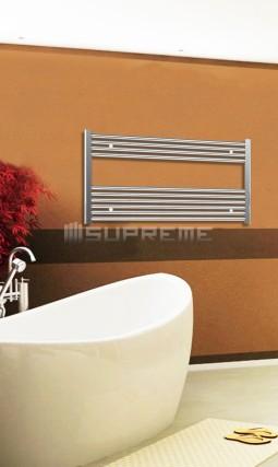 1000mm Wide 600mm High Chrome Flat Towel Radiator