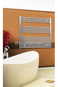 Chrome Towel Radiator 1000mm Wide 1000mm High