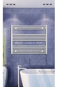 1000mm Wide 800mm High White Flat Towel Radiator