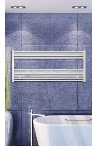 1200mm Wide 600mm High White Flat Towel Radiator