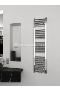 300/1200mm Middle Connection Chrome Towel Radiator