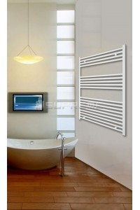 800mm Wide 1000mm High White Flat Towel Radiator