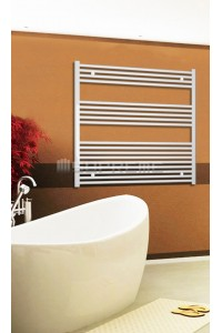 1000mm Wide 1000mm High White Flat Towel Radiator