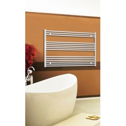 Electric Towel Radiator 1200mm Wide 800mm High White Flat