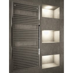 700mm Wide 1600mm High Multi Connection Chrome Towel Radiator