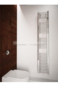 300/1700mm Middle Connection Chrome Towel Radiator