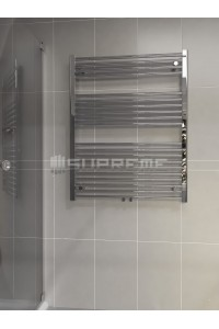 800mm Wide 1000mm High Multi Connection Chrome Towel Radiator