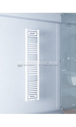 300mm Wide 1500mm High Multi Connection White Towel Radiator