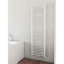 400mm Wide 1400mm High Multi Connection White Towel Radiator