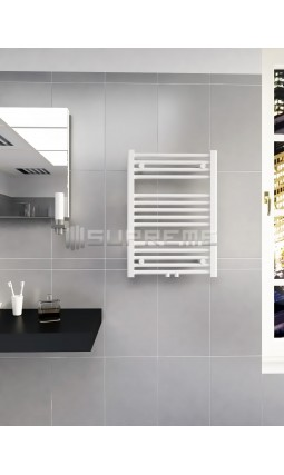 500mm Wide 700mm High Multi Connection White Towel Radiator
