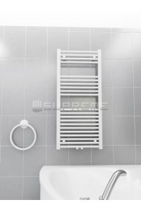 500mm Wide 1100mm High Multi Connection White Towel Radiator