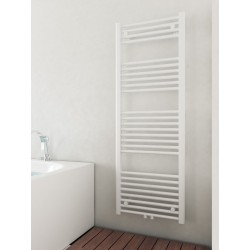500mm Wide 1400mm High Middle Connection White Towel Radiator