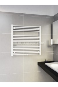 800mm Wide 800mm High Middle Connection White Towel Radiator