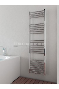 400mm Wide 1400mm High Multi Connection Chrome Towel Radiator