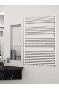 800mm Wide 1200mm High Middle Connection White Towel Radiator