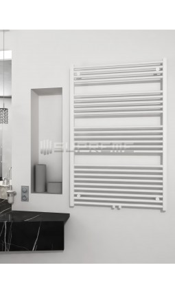 800mm Wide 1200mm High Multi Connection White Towel Radiator