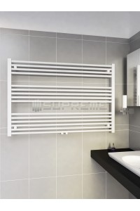1200mm Wide 800mm High Middle Connection White Towel Radiator