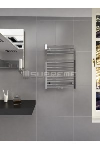 500mm Wide 700mm High Multi Connection Chrome Towel Radiator
