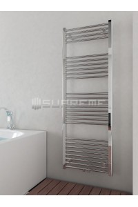 500mm Wide 1400mm High Multi Connection Chrome Towel Radiator