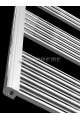 800mm Wide 800mm High Chrome Flat Towel Radiator
