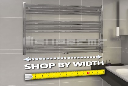 Shop by Width for Bathroom Towel Radiators